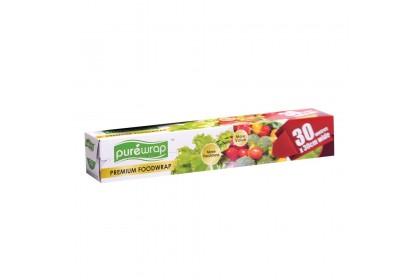 PUREWRAP Premium Food Wrap (30cm wide x 30m length)