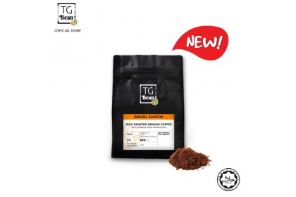 TG Bean Single Origin Coffee Bean / Ground Coffee (Brazil Santos) - 250g