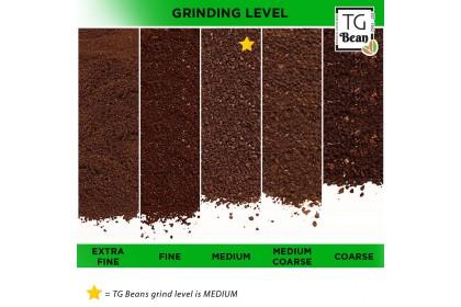 TG Bean Single Origin Ethiopia Yirgacheffe Arabica Coffee Bean/ Ground Coffee (250g)